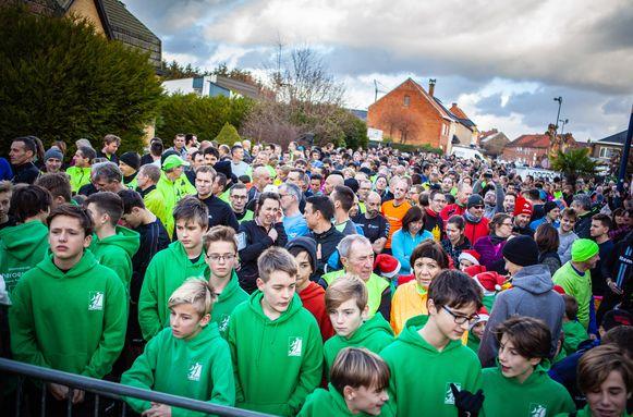 Er kwamen 1.690 lopers of wandelaars opdagen.