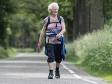 Wandelwonder Rikie Doornink (85) loopt voor 64e keer vierdaagse Neede