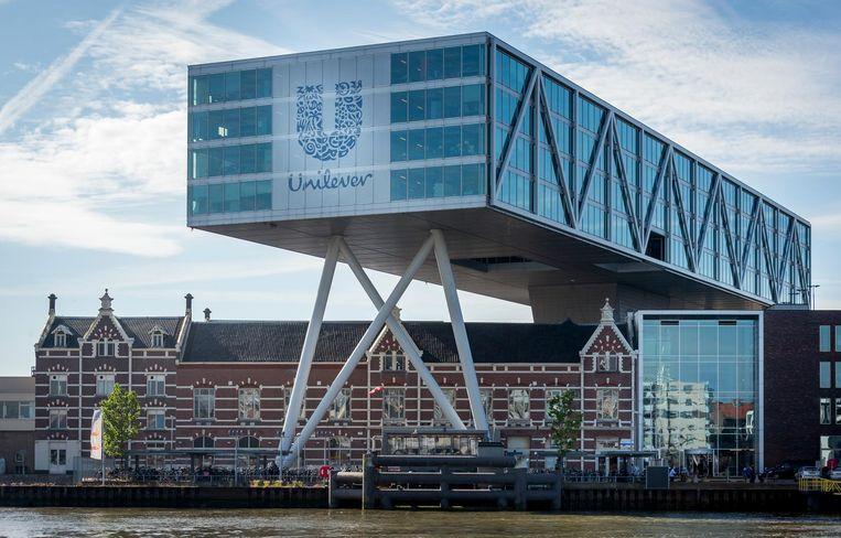 Het hoofdkantoor van Unilever in Rotterdam. Beeld ANP