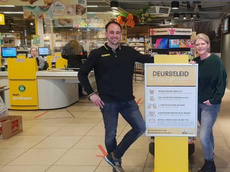 Het is aanpoten in de supermarkt: 'Beveiliger aan de deur? Niet hier'