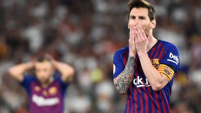 FC Barcelona eindigt seizoen compleet in mineur: Valencia pakt Spaanse bekerfinale