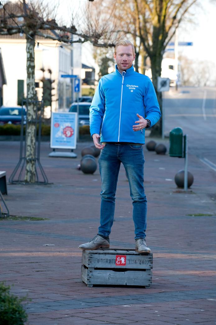 Niels van Dijken van de ChristenUnie.