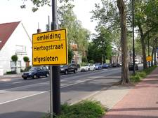 Hertogstraat Eindhoven bijna weer open voor verkeer