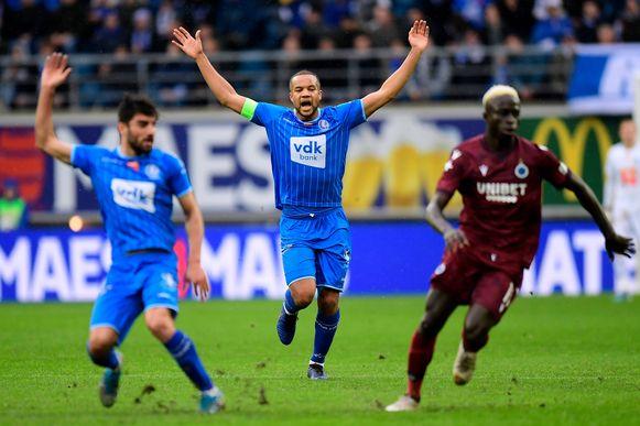 Archiefbeeld uit AA Gent-Club Brugge.