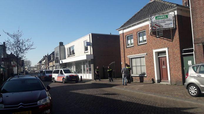 Onderzoek bij de Dorpsstraat in Oud Gastel.
