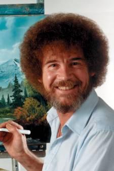 Eerste expositie ooit van cultschilder Bob Ross bijna open in de Achterhoek