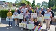 Lions Club Waasmunster bekroont winnaars vredesposterwedstrijd