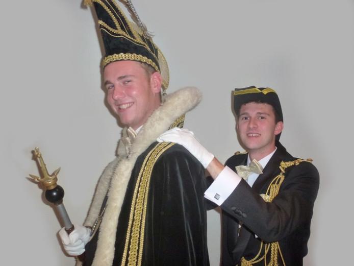 Prins Rick d'n Twidde en adjudant Carlo