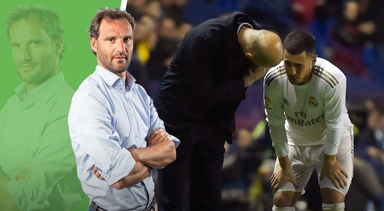 Onze chef voetbal over de nieuwe enkelblessure van Eden Hazard.