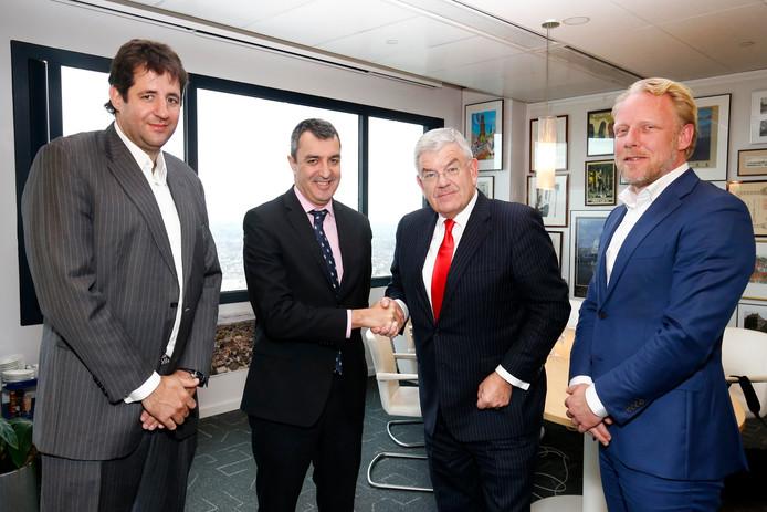 Burgemeester Jan van Zanen ontving vorig jaar een delegatie van de Vuelta voor de organisatie van de Start van de Vuelta in Utrecht in 2020. Dit weekeinde is hij in Spanje.