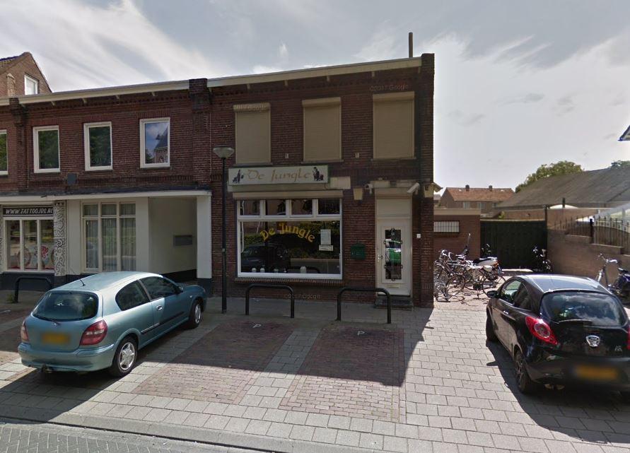 Coffeeshop De Jungle aan de Kromstraat in Oss.