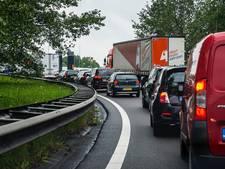 Flinke files rond Amsterdam door werk aan A1