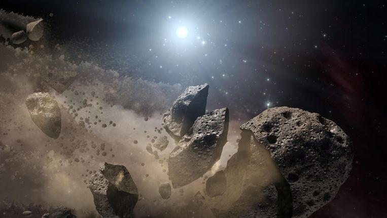 Planetoïde ter grootte van drie voetbalvelden scheerde langs