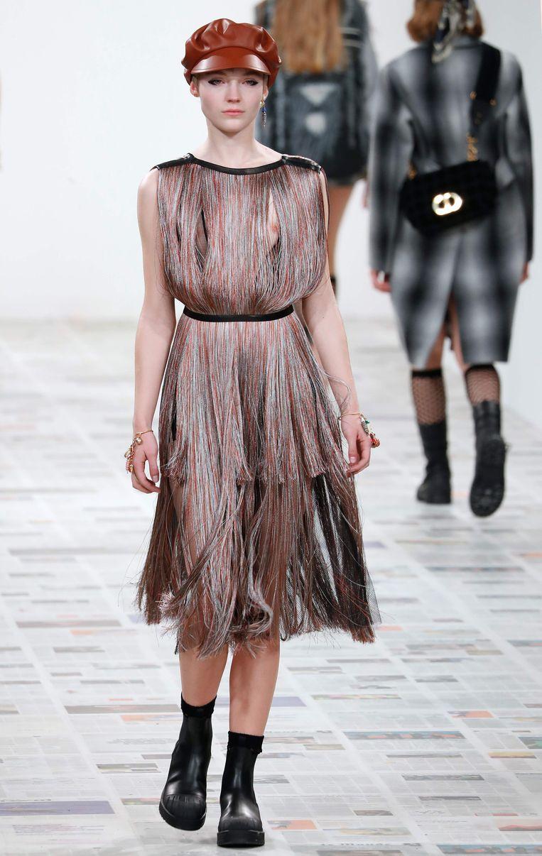Modeshow van Dior, Parijs.