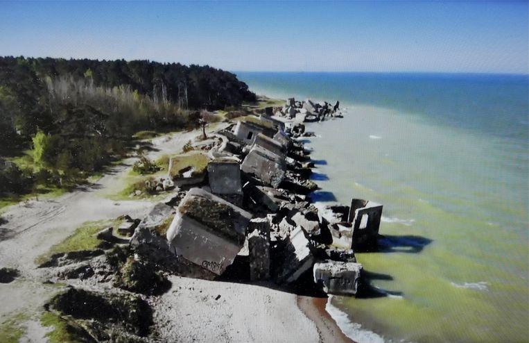 Kust van Letland, uit Abandoned Engineering. Beeld