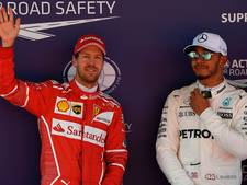 Vettel opgelucht met tweede plaats in kwalificatie na waterlek