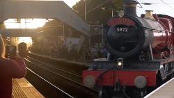 Bezoek aan beroemde Harry Potter-trein gaat compleet de mist in