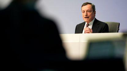 Draghi doet voorlopig niets aan bankenleed
