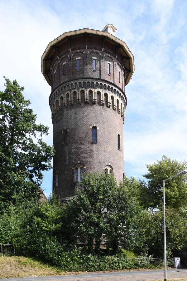 De watertoren in Bergen op Zoom