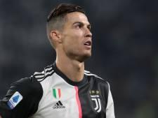 Geblesseerde Ronaldo ontbreekt in wedstrijdselectie Juventus