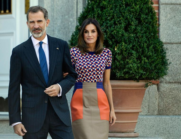 Koning Felipe en zijn Letizia