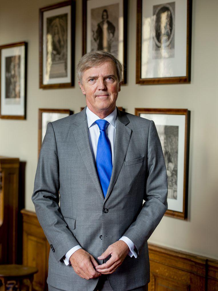VVD Eerste Kamerlid Loek Hermans Beeld anp
