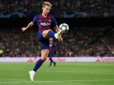 De Jong nog niet bij wedstrijdselectie Barça, middenvelder traint wel weer mee