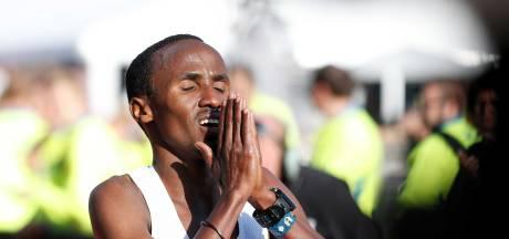 Nageeye blikvanger in marathon van Rotterdam