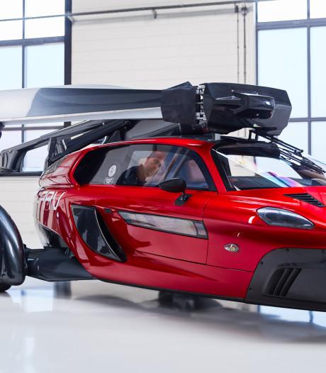 Vliegende auto kan drie jaar lang boven Meerkerk worden getest