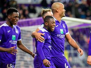 Anderlecht peut encore rêver des playoffs 1 après son large succès face à Eupen