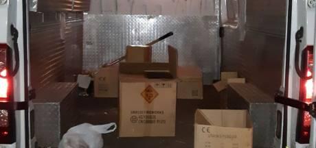 Man (19) gepakt met 150 kilo illegaal vuurwerk bij Vuren