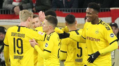 Thorgan Hazard pikt goaltje mee in ruime zege van Dortmund tegen Mainz, ook Bornauw scoort