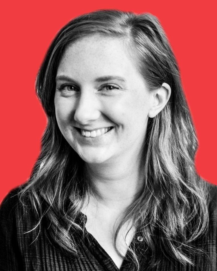 Katie Digan is historicus en promoveert aan de Universiteit Gent. Ze is deelnemer van STUDIO van De Balie. Beeld -