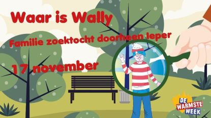 Waar is Wally? Familiezoektocht doorheen Ieper