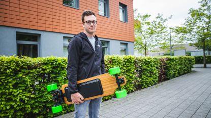 """Student-ondernemer Frederic (23) runt webshop voor elektrische skateboards: """"Het ideaal vervoersmiddel nu de auto gebannen wordt"""""""