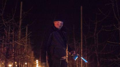 """Truiense fruittelers beschermen hun bloesems met vuurpotten: """"Kersen kunnen niet tegen vrieskou"""""""
