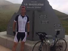 Dennis fietst voor zieke kinderen, maar nu is zijn racefiets gestolen in Tilburg: 'Ik baal enorm'
