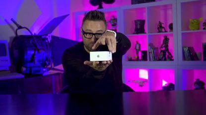 """""""Dit is de toekomst van Apple!"""" Gadgetfreak Frank Molnar 'unboxt' iPhone X voor HLN.be"""