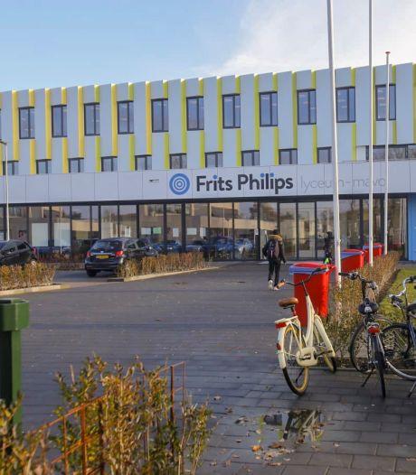Corona slaat toe bij Frits Philips Lyceum: school stapt over op kortere lessen