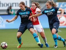 Voetbalsters PSV verliezen bekerfinale van Ajax