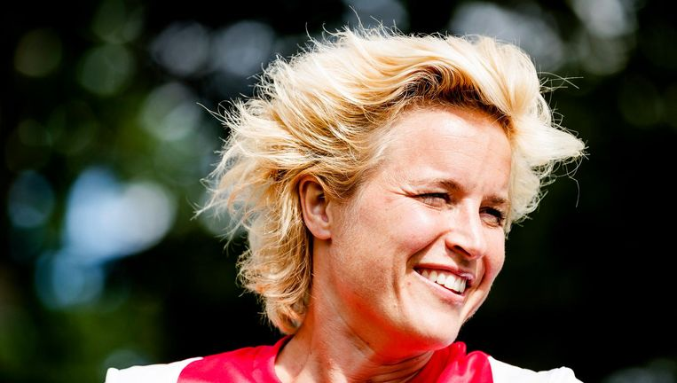 Ajax-aanvoerder Daphne Koster. Beeld ANP