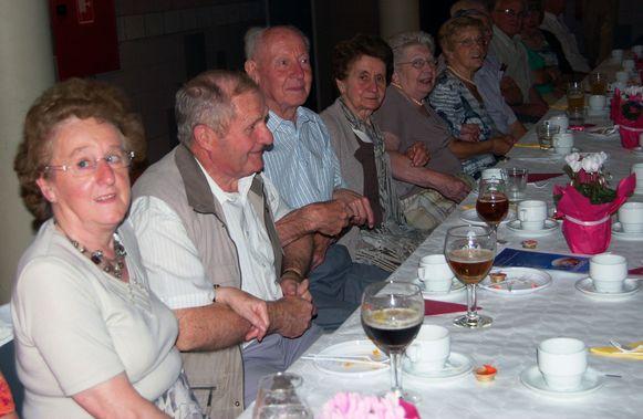 Illustratie seniorenfeest