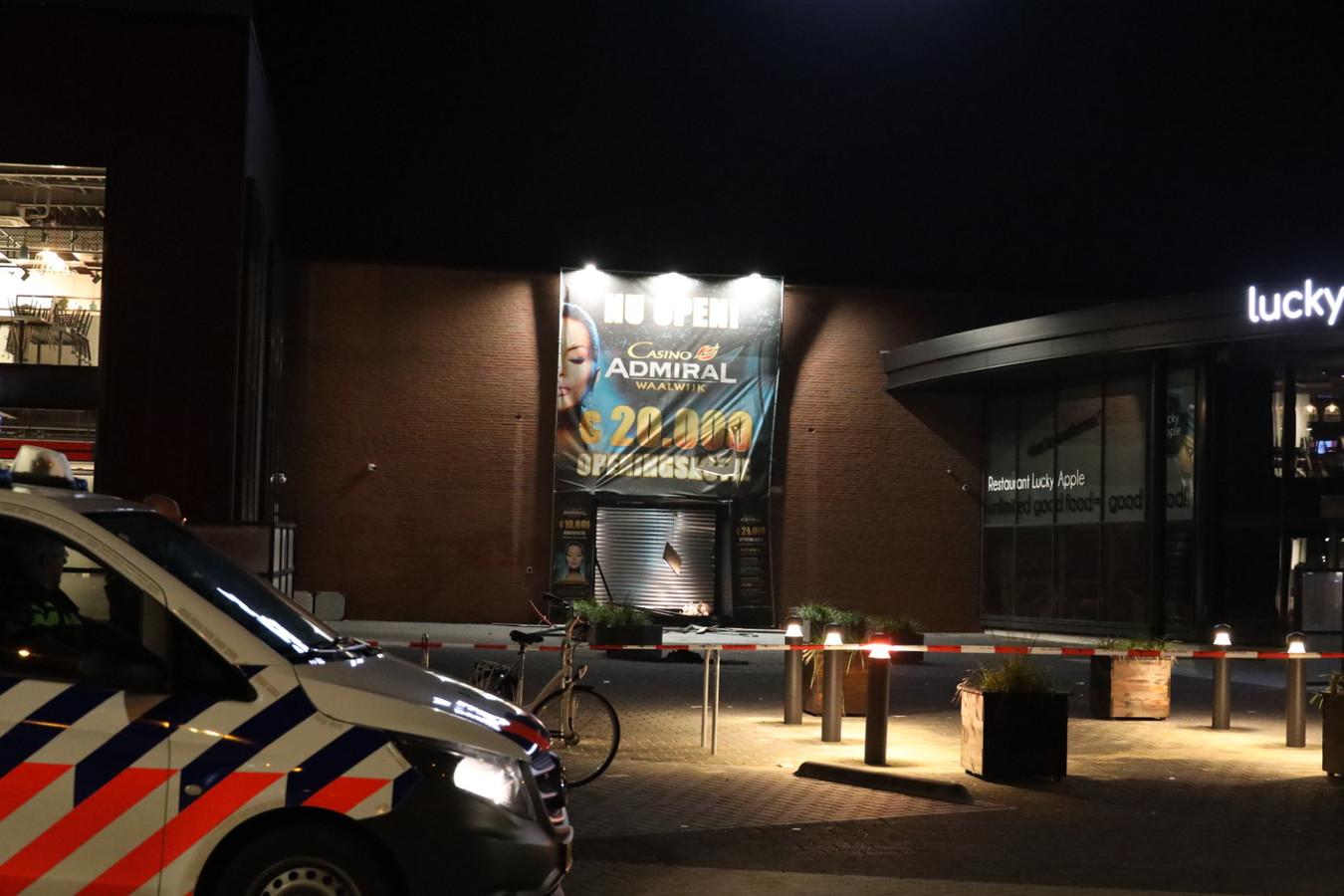 Ramkraak casino in Waalwijk.