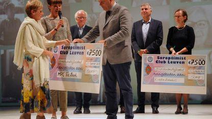 Cheque van 22.500 euro voor Leuvense organisaties
