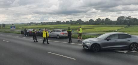 Twee arrestaties na achtervolging op A2 bij Breukelen