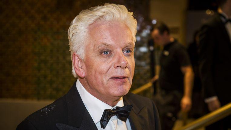 Jan Slagter op het Correspondents' Dinner Beeld anp