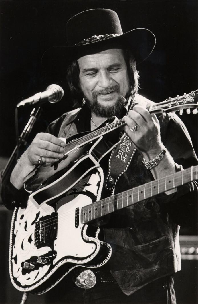 Waylon Jennings in 1984.