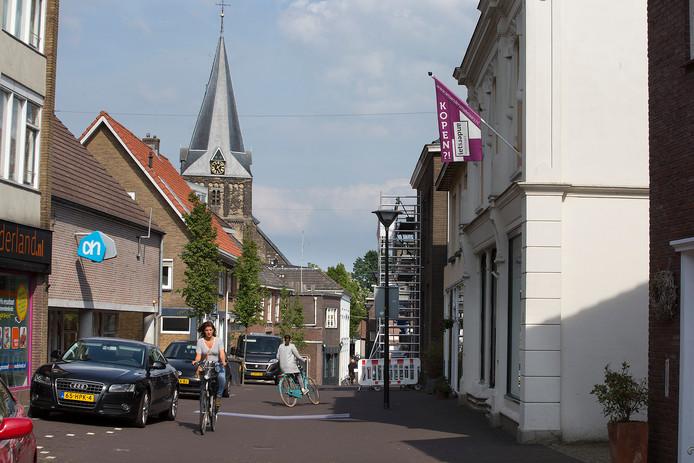 De Hogestraat in Aalten. foto Theo Kock