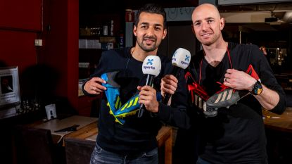"""Messoudi en Matthys, clubspelers annex Proximus-analisten strijdend om promotie: """"Mekaar tot uiterste gedreven"""""""