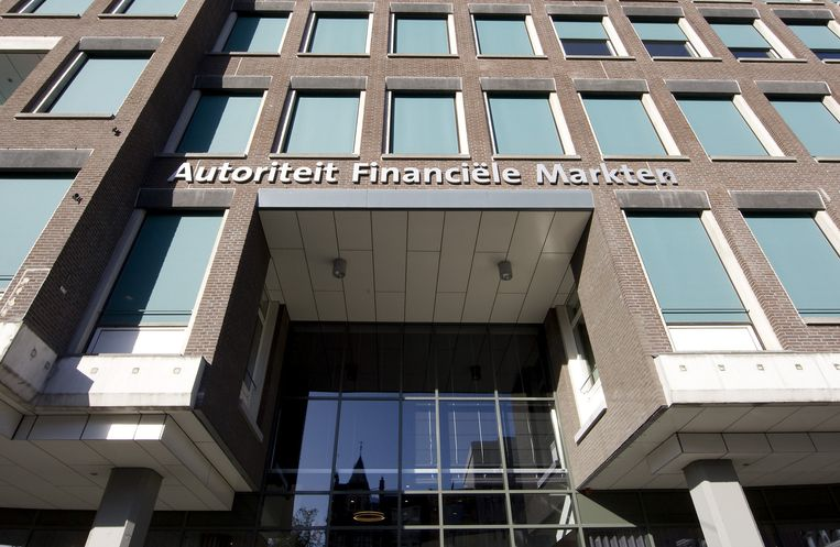 Exterieur van het kantoor van Autoriteit Financiele Markten (AFM) in Amsterdam. AFM is gedragstoezichthouder op de financiele markten. Beeld anp